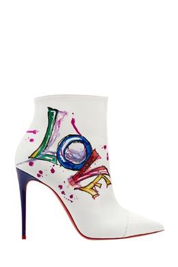 Кожаные ботильоны Boot in Love 100 Christian Louboutin 10698551