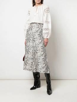 Ulla Johnson блузка со вставками в технике кроше FA190216