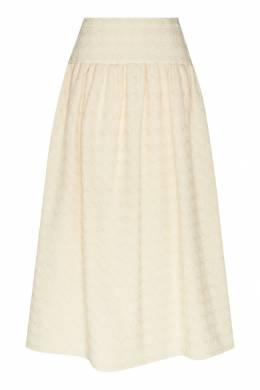 Шерстяная юбка-миди Gucci 470151697