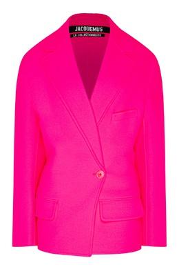 Розовый жакет из шерсти Jacquemus 2985151895