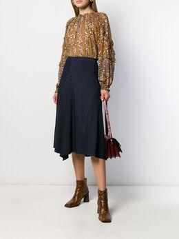 Ulla Johnson блузка с цветочным принтом FA190223