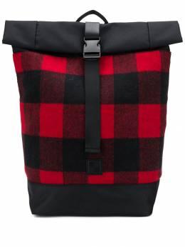 Woolrich объемный рюкзак в клетку WOBAG0087UT1856
