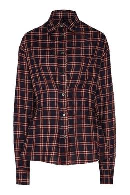 Рубашка с рисунком в клетку Unravel Project 2852151884