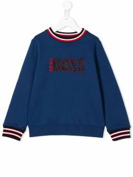 Boss Kids - logo embroidered sweatshirt D6989993053865000000