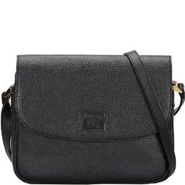 Burberry Black Leather Shoulder Bag 225749