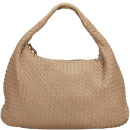 Bottega Veneta Brown Intrecciato Leather Hobo Bag 224997