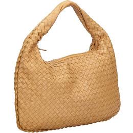 Bottega Veneta Brown Intrecciato Leather Hobo Bag 204477