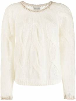 Forte Forte - cable knit sweater 9MYKNIT9556538900000