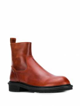 Ann Demeulemeester - Country round-toe boots 00805380955903680000