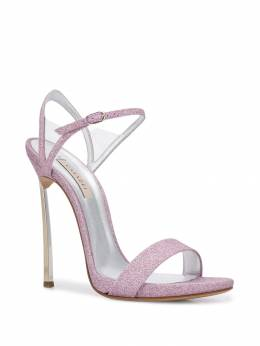 Casadei - Blade v Celebrity glittered sandals 88N906MC639695066535
