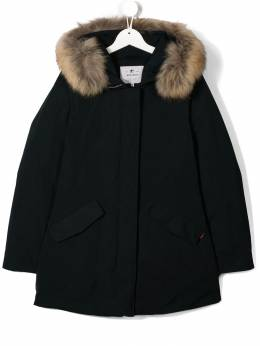 Woolrich Kids - racoon fur hooded coat PS0699UT653395565393