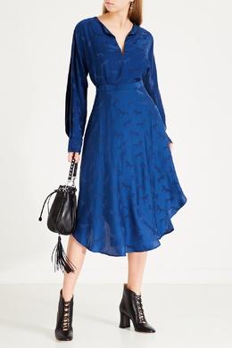 Синяя юбка с рисунком Stella McCartney 193152721