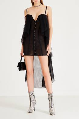Платье с корсетом и мантильей Unravel Project 2852151195