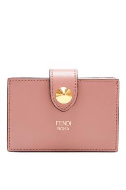 Розовый картхолдер с логотипом Fendi 1632153515