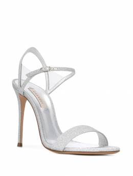 Casadei - glittered 110mm sandals 89N9669T668595066559