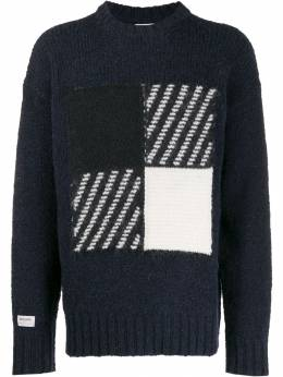 Woolrich - patterned detail jumper AG9835UF635695595036