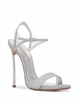 Casadei - Blade glittered sandals 88N906MC639695066533