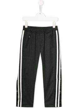 Neil Barrett Kids - thunder embroidered track pants 69995563035000000000