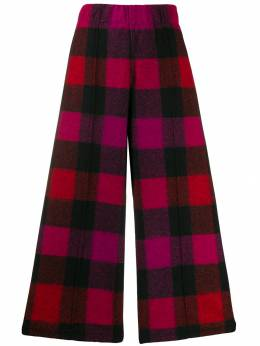 Woolrich - check cropped trousers AN9065UT986595535050