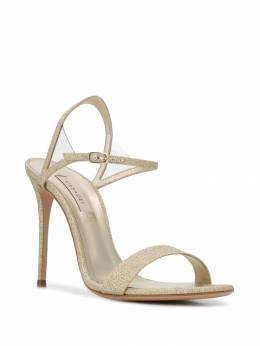 Casadei - glittered 110mm sandals 89N9669T668595066539