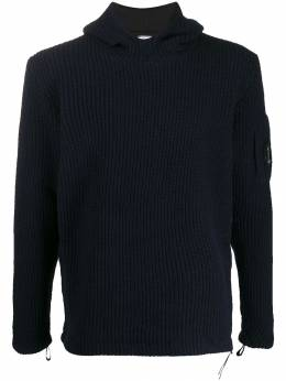 CP Company - ribbed hoodie 393A665565A955950950