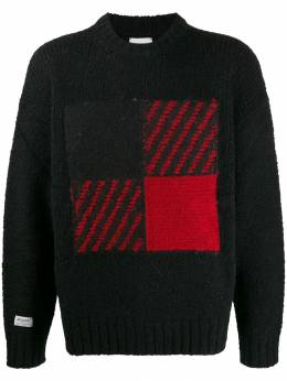 Woolrich - patterned detail jumper AG9835UF635695595085