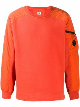 CP Company - lens detail crew-neck sweatshirt MSS998A665995M955933