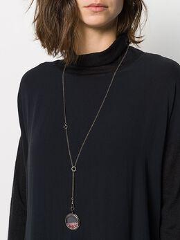 Ann Demeulemeester - quartz necklace 06633605955663950000