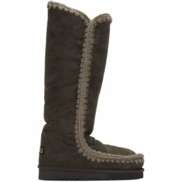 Mou Grey 40 Tall Boots 192326F11500704GB