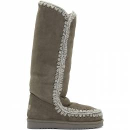 Mou Grey 40 Tall Boots 192326F11500901GB