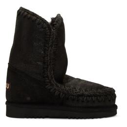 Mou Black 24 Mid-Calf Boots MU.FW101000B