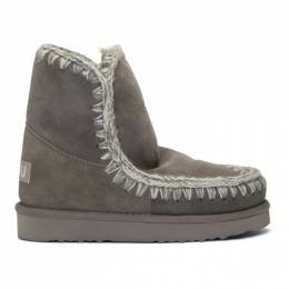 Mou Grey 18 Ankle Boots 192326F11304503GB