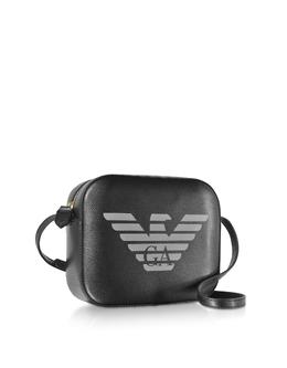 Сумка на Плечо с Тисненым Логотипом Орлом Emporio Armani Y3B200 YSE2B 80001 NERO