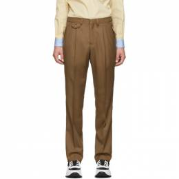 Burberry Brown Formal Trousers 4558259