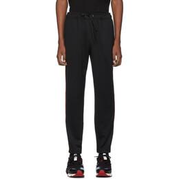 Burberry Black Sorrento Lounge Pants 192376M19000902GB