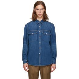 Burberry Indigo Denim Dickson Jacket 192376M17700501GB