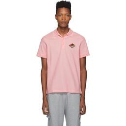 Burberry Pink Logo Aiden Polo 192376M21203303GB