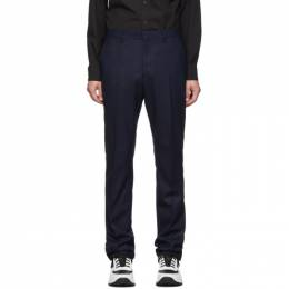 Burberry Navy Classic Trousers 192376M19101502GB