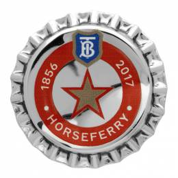 Burberry Silver Bauhaus Bottle Cap Pin 192376M14600101GB