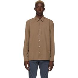 Boss Brown Franklin Shirt 192085M19202001GB