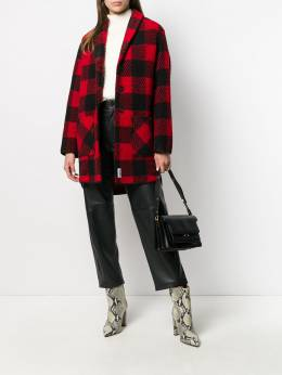 Woolrich - buffalo print button-up coat SC665695566099000000