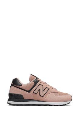 Пудровые кроссовки с контрастной отделкой New Balance 433153079
