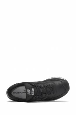 Черные кроссовки с перфорированными вставками New Balance 433153098