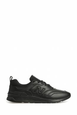 Черные кроссовки с перфорацией и логотипом New Balance 433153099
