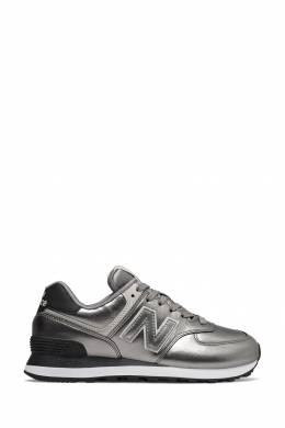 Серебристые кроссовки New Balance 433153082