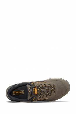 Коричневые кроссовки с контрастными вставками New Balance 433153069