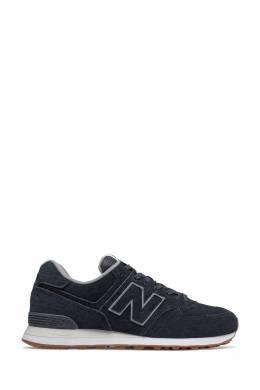 Черные фактурные кроссовки New Balance 433153062