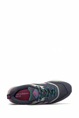 Синие кроссовки с розовыми вставками New Balance 433153061