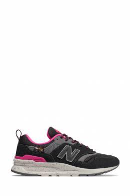 Черные кроссовки с розовыми вставками New Balance 433153060