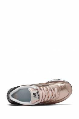 Блестящие розовые кроссовки New Balance 433153081